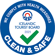 Clean & Safe - We comply with health measures - Iceland Tourist Board 2021